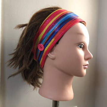 Glitter Stripes Headband