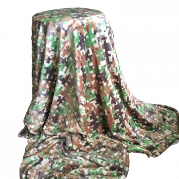 Camouflage Pattern Throw