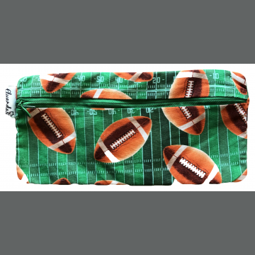 Football Pencil Pouch