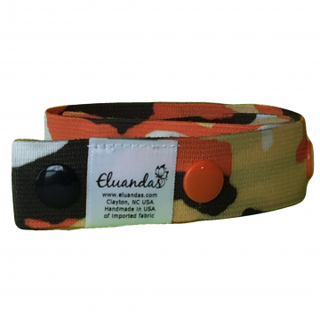 Orange Camouflage Elu Clip