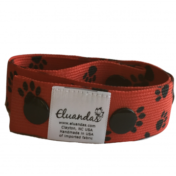 Red Paws Pattern Elu Clip
